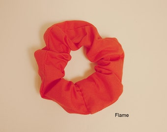 3 Scrunchies, Pink and Red Scrunchie Selection, Multi Pack of 3 Scrunchies, Hair Accessories, Choose 3 Scrunchies!