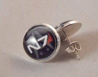 Mass Effect N7 Earrings