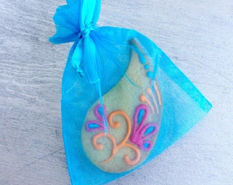 Paisley Henna Wedding Cookie Favours