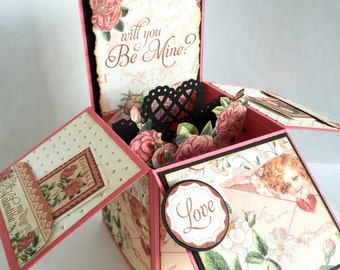 Be Mine pop-up Valentine's Day card