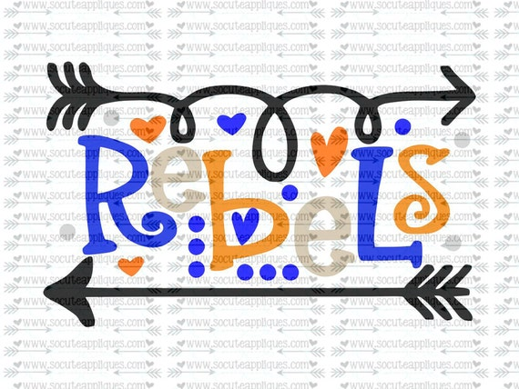 Rebels Fun Arrows Svg Socuteappliques Svg Sayings
