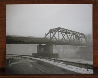 Foggy Bridge 1 8x10 photo print