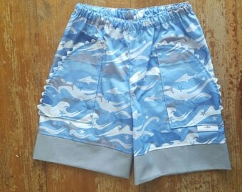 Shorts with matching singlet set - Size 4