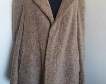 Vintage Listerllama coat plussize US 18