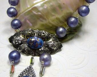 Vintage Floral & Filigree Jewelry Ensemble