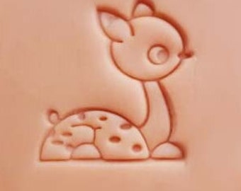 Mini Soap Stamp Fawn Soap Stamp Little Fawn Resin Mold Handmade Soap Stamp DIY Soap Stamp