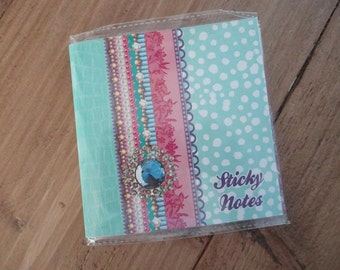 "Sticky notes ""beautiful mint"""