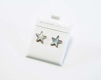 Starfish Mother of Pearl Earrings