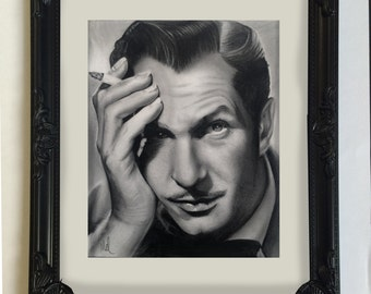 Vincent Price drawing