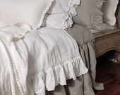 Reserved for Stephanie - set of pure linen bedding