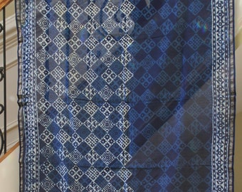 Blue Silk Tapestry