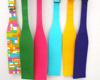 gay pride rainbow tie clip