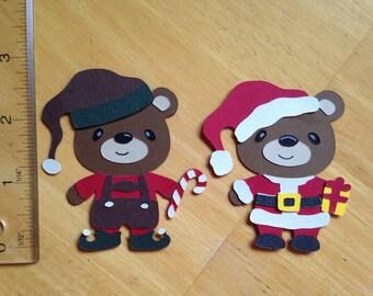 Christmas teddy bears 1