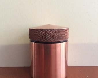 Copper inkwell