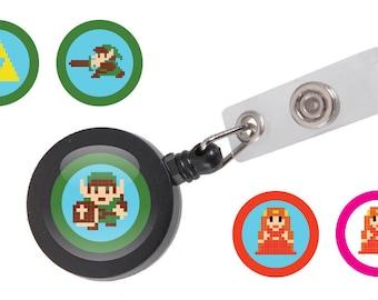 Legend of Zelda ID Badge Reel