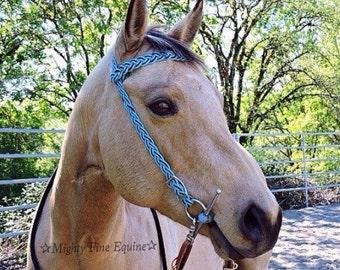 Custom Adjustable Paracord Horse Bridle