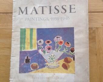 Matisse paintings1939-1946