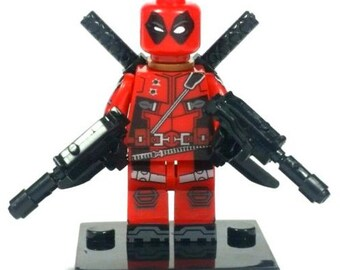 Deadpool Custom Lego Minifig