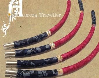CUSTOM made PE BEGINNERS travel fabric hula hoop of your choice!