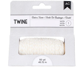 American Crafts 366499 Bakers Twine - Vanilla