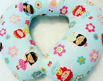 Girls Custom Travel Pillow, Toddler Neck Pillow, Princess Neck Pillow, Fairy Pillow, Princess Bedding, Princess Baby Shower Gift