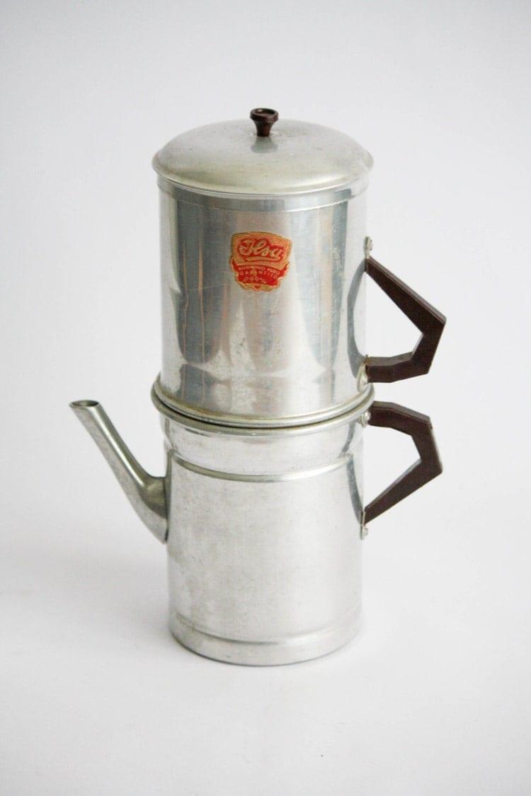 Ilsa Coffee Maker Italy : Ilsa Vintage Aluminium Neapolitan Coffee Maker / by DoubleRandC