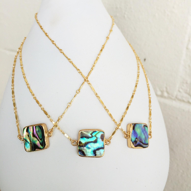 The Abalone Choker | Choker Necklace | Abalone Necklace