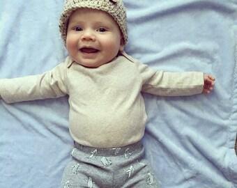Crochet Beanie Hat, Beanie Hat, Crochet Hat, Winter Hat, Brim Hat