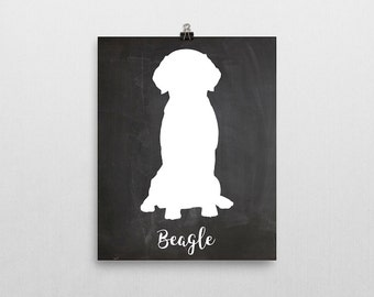 Beagle print, beagle art, beagle, beagle poster, beagle silhouette, beagle art print, beagle dog, dog art, dog print, dog portrait, portrait