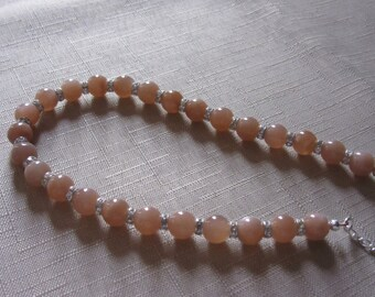 Australian sunstone necklace