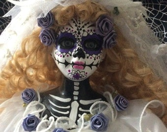 Bride Doll, Day of The Dead, Catrina Doll