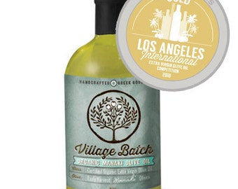 Organic Extra Virgin Olive Oil - Best of Class Gold Award