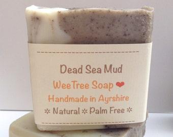 Dead Sea Mud Natural Handmade Vegan Soap Bar