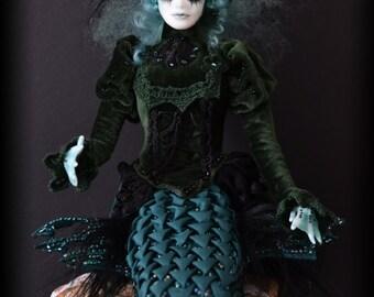 Mermaid Charadina Art Doll