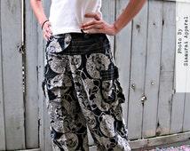 Lotus Flower Comfy Pants (Unisex) BB001c