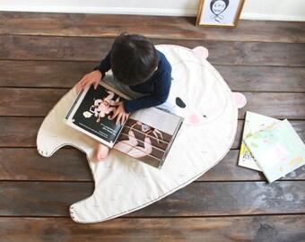 Bear-blanket & palymat