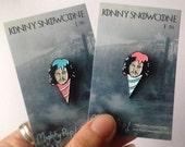 Jonny Snowcone soft enamel pin