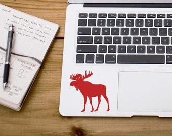 SUMMER SALE! Moose sticker moose decal Car Laptop Vinyl Decal Sticker