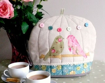 Handmade Cute Bird Cage Tea Cosy