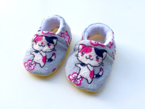 Baby Shoes Cat Baby Shoes Soft Sole Shoes Fleece Baby