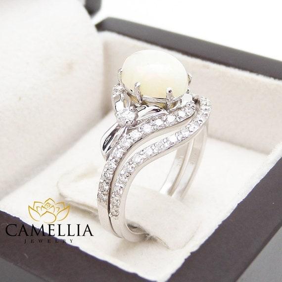 Wedding Rings Sets White Gold 65 Elegant