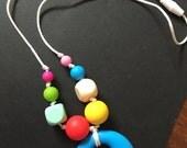 """25"""" Chew Necklace Multi-Colored"""