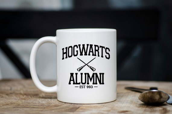 HOGWARTS ALUMNI | Harry Potter Mug | Message Mugs | 11 oz.