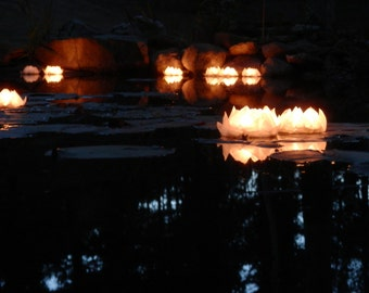 15 Floating Votive/Tea Light Holders