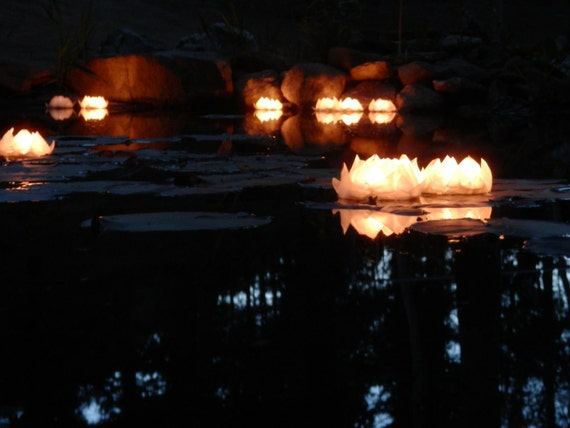 100 Floating Votive/Tea Light Holders
