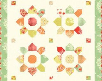 FREE SHIPPING! Blossom Mini Quilt Pattern by Fig Tree Quilts