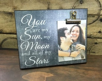 You Are My Sun My Moon And All Of My Stars, Valentine's Day Gift, Couples Gift, Birthday Gift, Christmas Gift