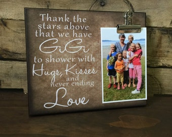 Thank the stars above that we have GiGi to shower with hugs kisses, Grandparents Gift, Couples Gift, Birthday Gift, Christmas Gift