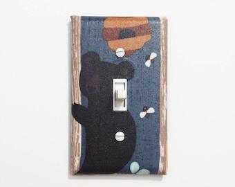 Superior Honey Bear Switchplate Cover   Bear Nursery Decor   Bear Theme   Bear Wall  Art