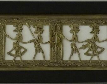 Framed Pheras Brass Pictures